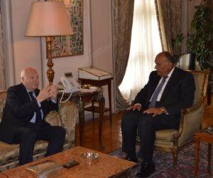 وزير الخارجية يؤكد على أهمية الحوار لمنع النزاعات ونشر ثقافة السلام
