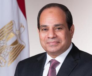 السيسى يستقبل رئيس المجلس العسكري الانتقالي بالسودان