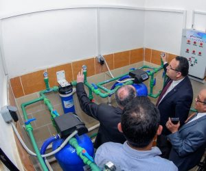 تنفيذ أفكار لأول مرة.. خطة «الإسكندرية» لترشيد استهلاك مياه الشرب (صور)