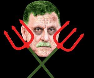 حلف الشيطان بقيادة «السراج» يدمر ليبيا