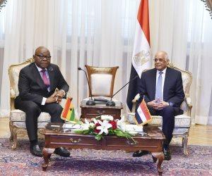رئيس برلمان غانا لـ«عبدالعال»: بلدكم رائد لدعم حركات التحرر في أفريقيا (صور)