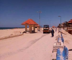 شمال سيناء تستعد للعيد.. طرح مواد تموينية بالأسواق وتجهيز الشواطيء واستنفار بالصحة (صور)