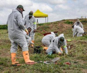 العراق تنبش المقابر للتعرف على هويات ضحايا داعش