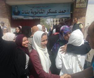 طلاب الثانوية العامة بشمال سيناء: الامتحانات سهلة والأجواء هادئة (صور)