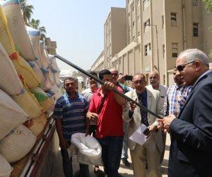 بعد استقبالها 202 ألف طن.. محافظة الجيزة تفرض رقابة صارمة على أعمال استلام وتخزين الأقماح