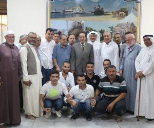 «شوشة» يلتقي المجلس المنتخب ويقرر تخصيص قطعة أرض لمبنى الغرفة التجارية (صور)