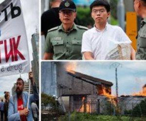 جولة في صحف العالم.. حريق يلتهم 250 ألف لتر «كونياك» بفرنسا