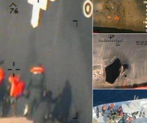 صور جديدة تكشف ضلوع إيران في هجوم خليج عمان.. وأمريكا تعلق