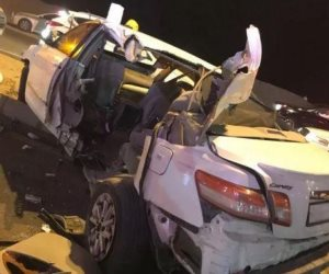 مقتل شخص وإصابة 3 آخرين في حادث تصام 4 سيارات أعلى محور 26 يوليو من ميدان لبنان