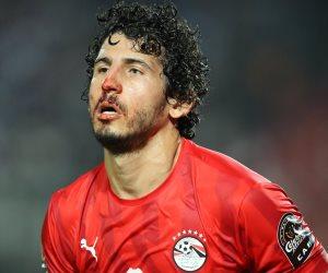المنتخب: إصابة أحمد حجازى بكسر في الأنف.. وهذا موقفه من مباراة الكونغو