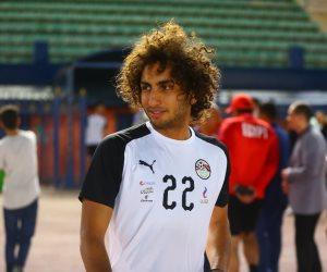 قبل استبعاده.. صور تلخص حياة وردة بقميص منتخب مصر