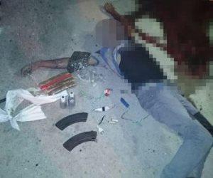 الداخلية: مقتل 4 إرهابيين واستشهاد ضابط شرطة و6 جنود في إحباط هجوم على كمين بالعريش (صور)
