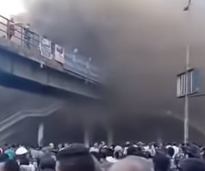قوات الحماية المدنية تسيطر على حريق سوق الخضار بالموسكي