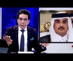 «هم يبكي وهم يضحك».. فضيحة دولية لأمير قطر  وإعلام الإخوان يتراقص لتبريرها (فيديو)