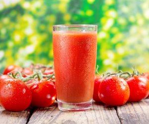 اعرف تأثير تناول عصير الطماطم على جسمك