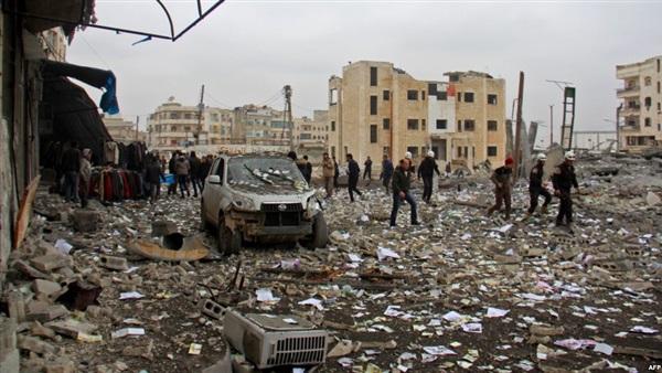 المرصد السوري: مقتل 40 من «فتح الشام» في غارات بريف حلب