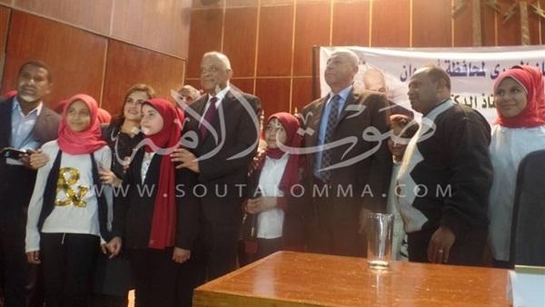مؤتمر جماهيري في أسوان للترحيب برئيس البرلمان (صور)