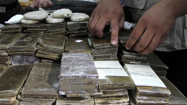ضبط 4 مسجلين بحوزتهم مواد مخدرة بالمنوفية