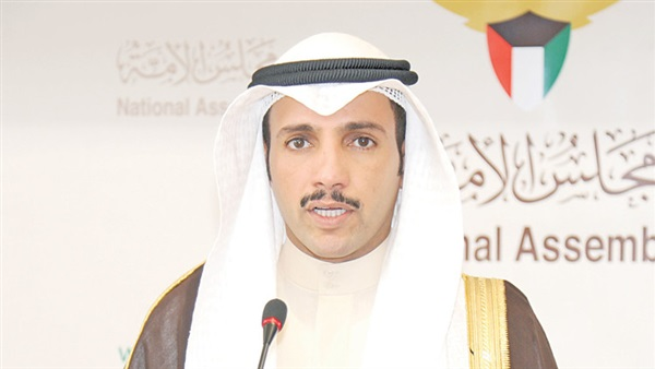 رئيس مجلس الأمة الكويتي يغادر بعد لقاء السيسي