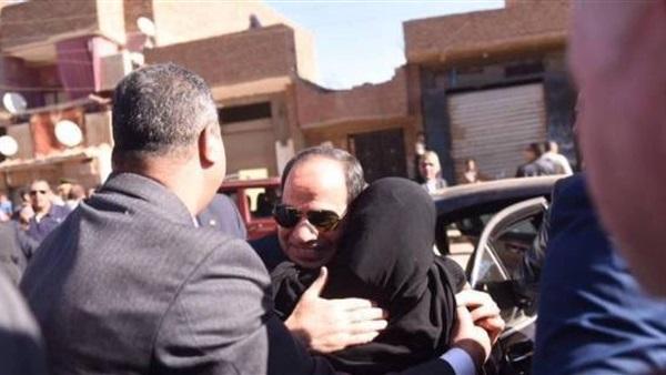 «سيدة أسوان» تغادر القاهرة بعد تلقيها العلاج