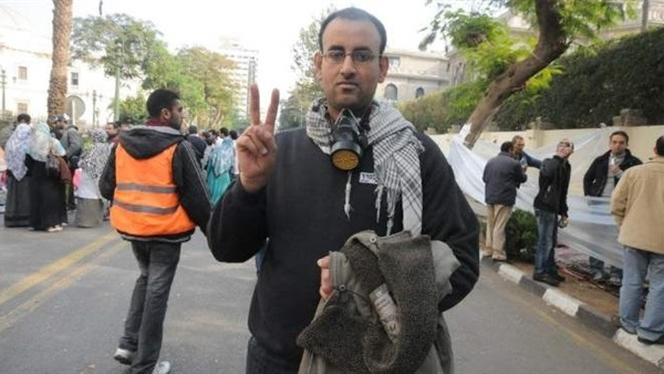 انتهاء فاعلية إحياء ذكرى الحسيني أبو ضيف أمام نقابة الصحفيين