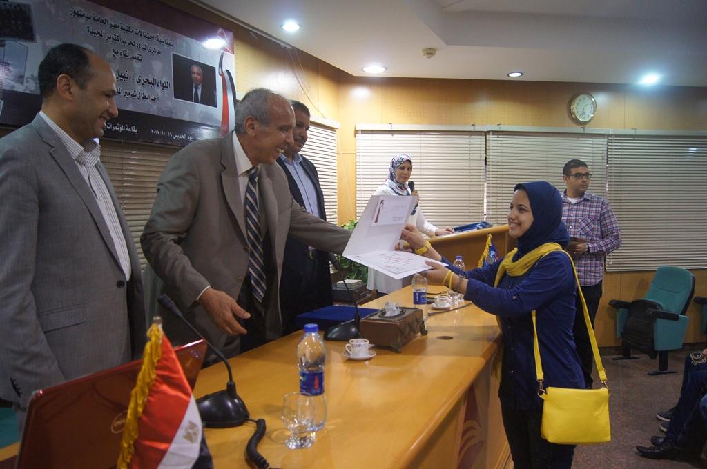 1 احتفال مكتبة دمنهور بيوم البحرية