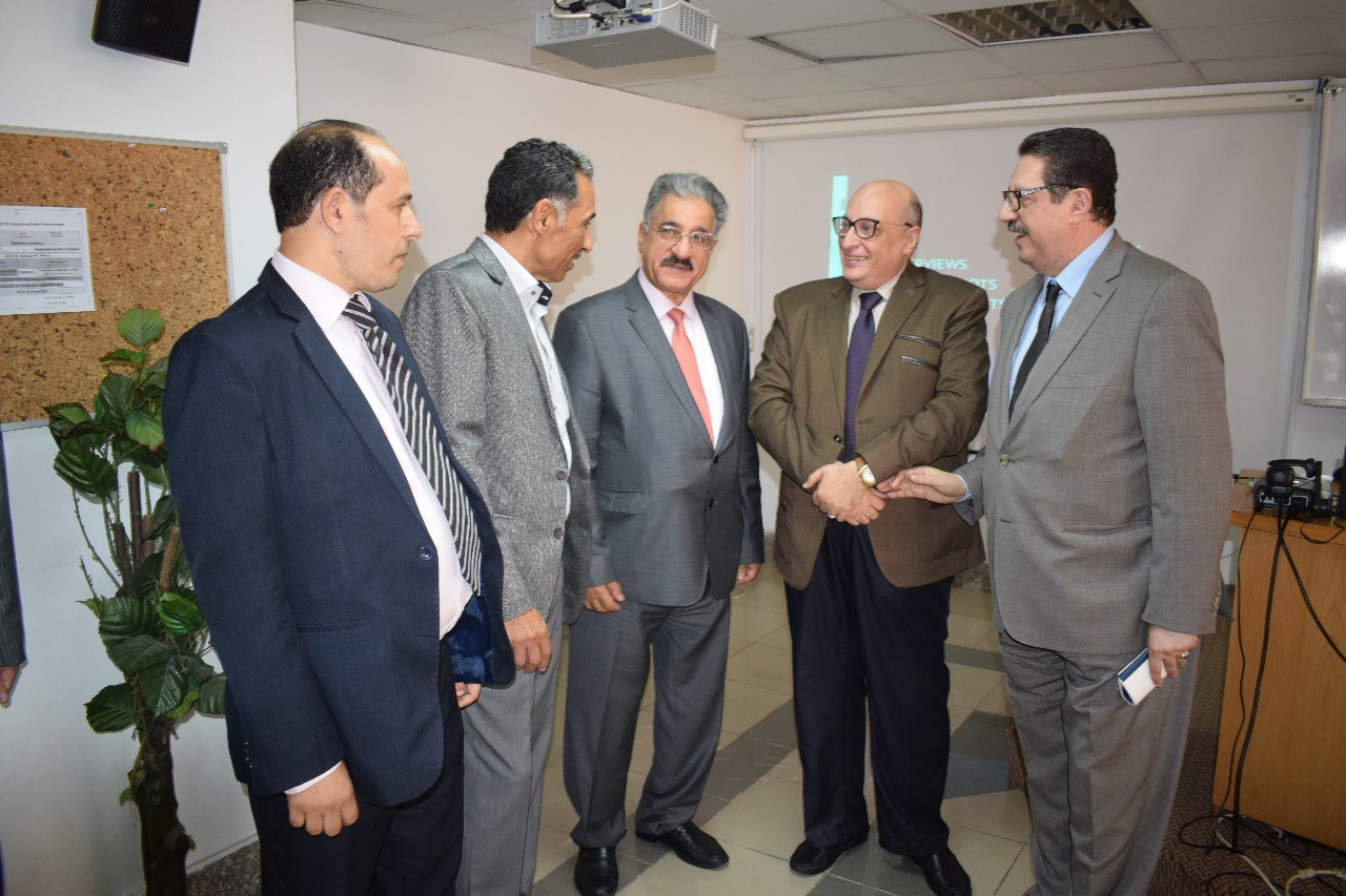 وفد الجامعة الأهلية بالبحرين يختتم زيارته للمؤسسات