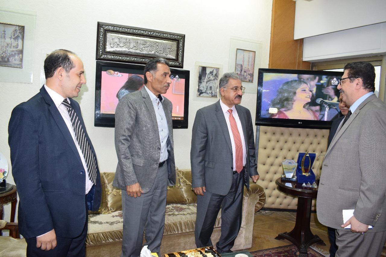 وفد الجامعة الأهلية بالبحرين يختتم زيارته للمؤسسات 2
