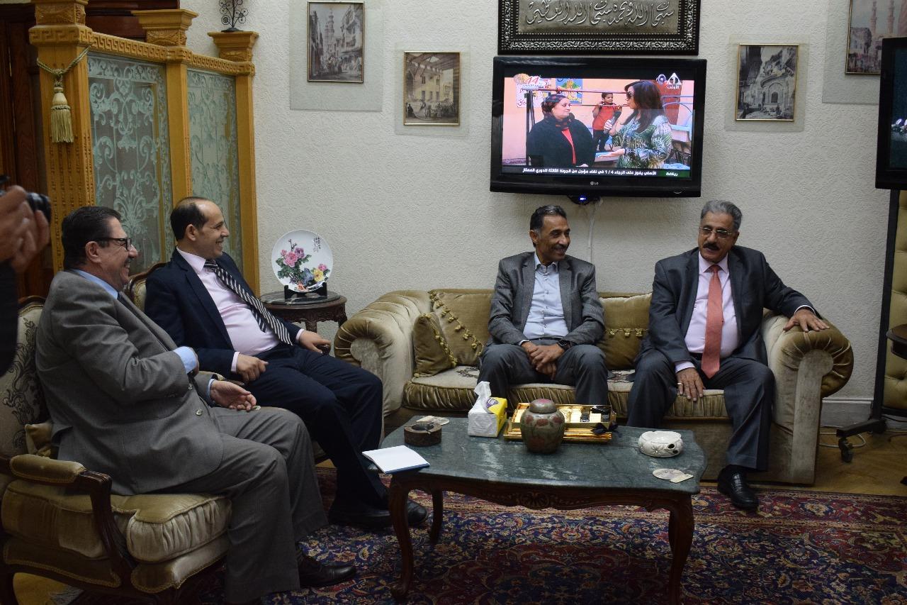 وفد الجامعة الأهلية بالبحرين يختتم زيارته للمؤسسات 6