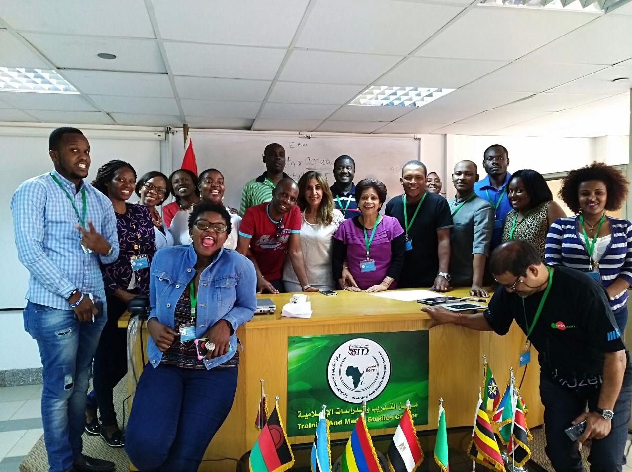 شهيرة أمين تلتقي الإذاعيين الأفارقة في محاضرة عن أخلاقيات الإعلام  (3)