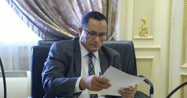 عمر حمروش أمين سر لجنة الشئون الدينية بالبرلمان