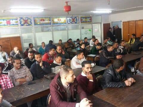 الإسكندرية لتوزيع الكهرباءتدرب قراء العدادات الجدد