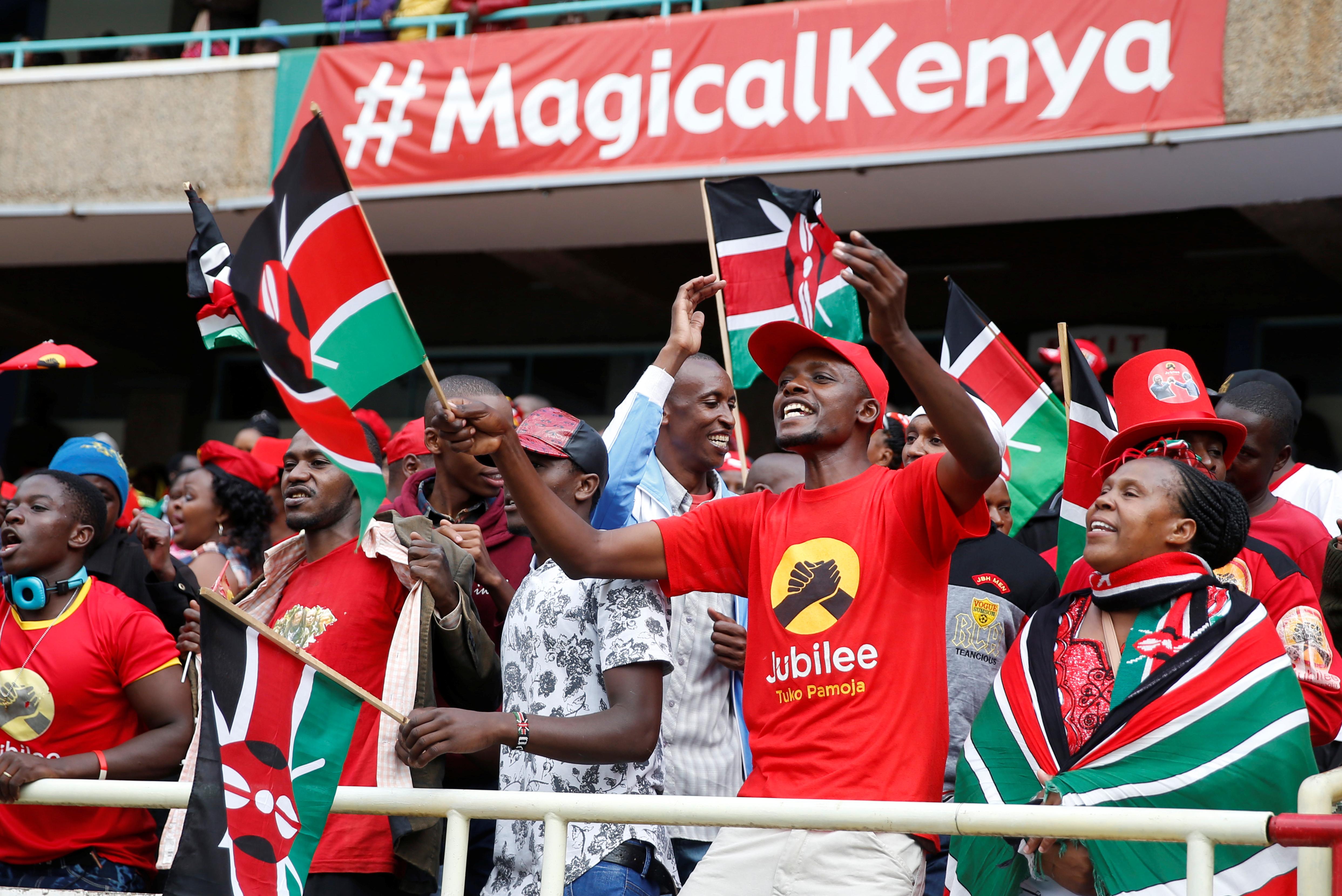 تنصيب رئيس كينيا (1)