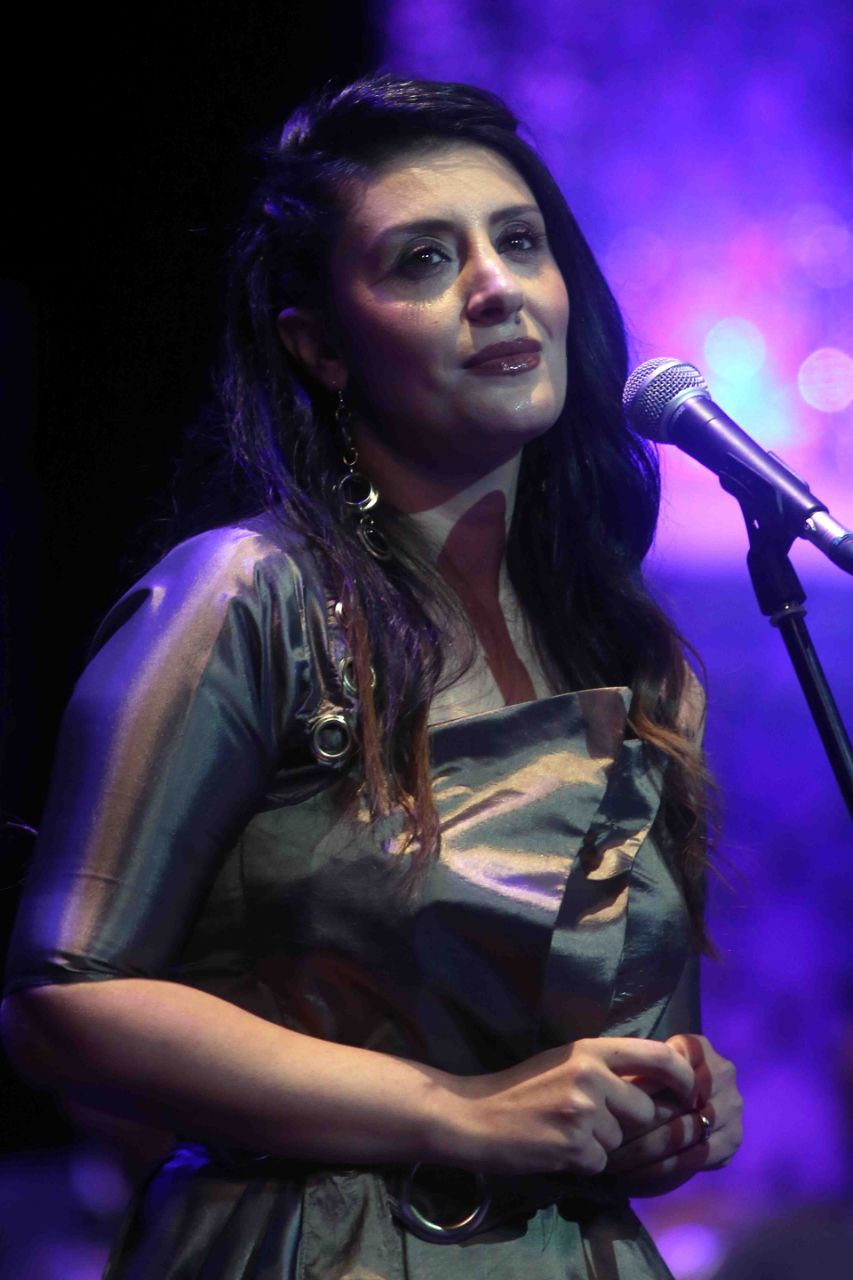 الفنانة أجفان في مؤتمر الموسيقى العربية