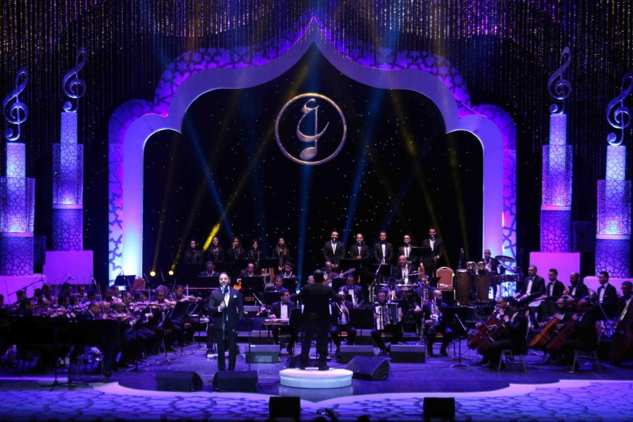 حفل رامي عياش في مؤتمر الموسيقى العربية