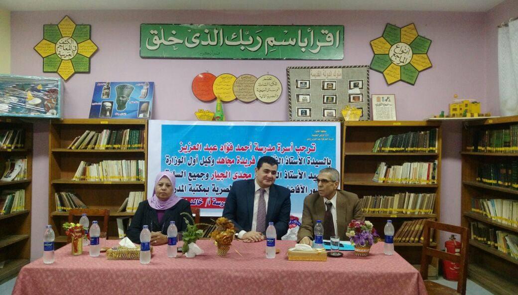 مبادرة لتعريف طلاب المدارس بدار الكتب  (3)