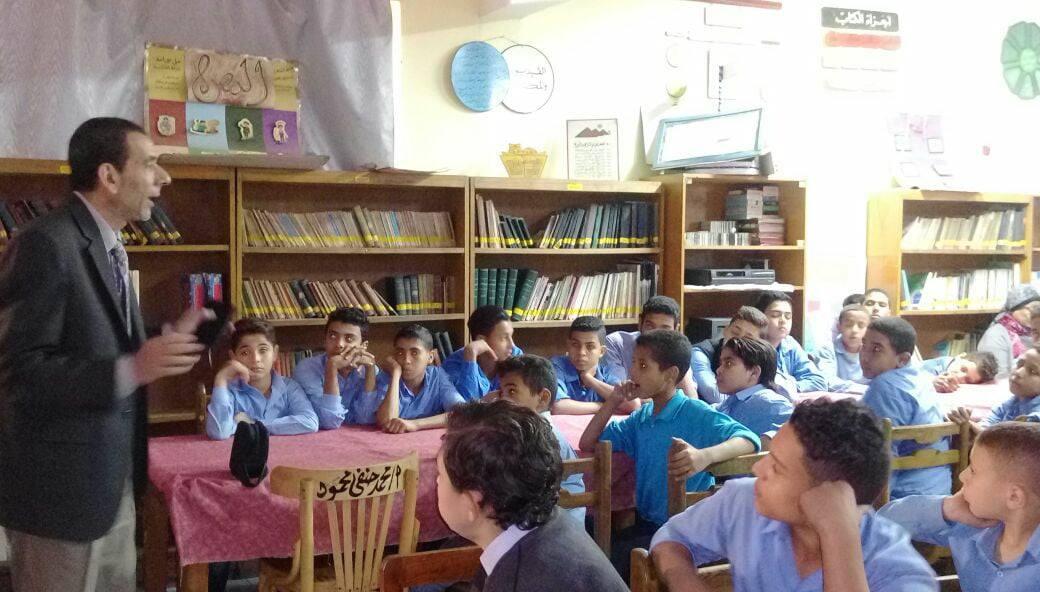 مبادرة لتعريف طلاب المدارس بدار الكتب  (2)