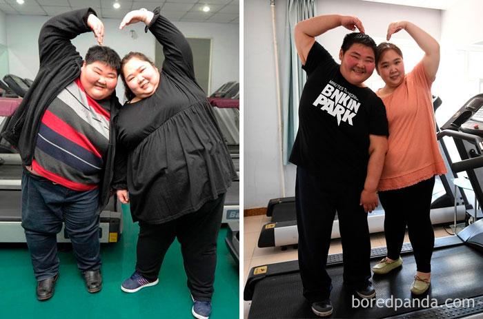 أزواج خسروا الوزن معاً3