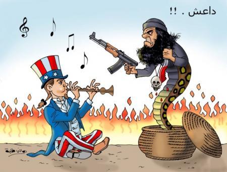 أمريكا-وداعش