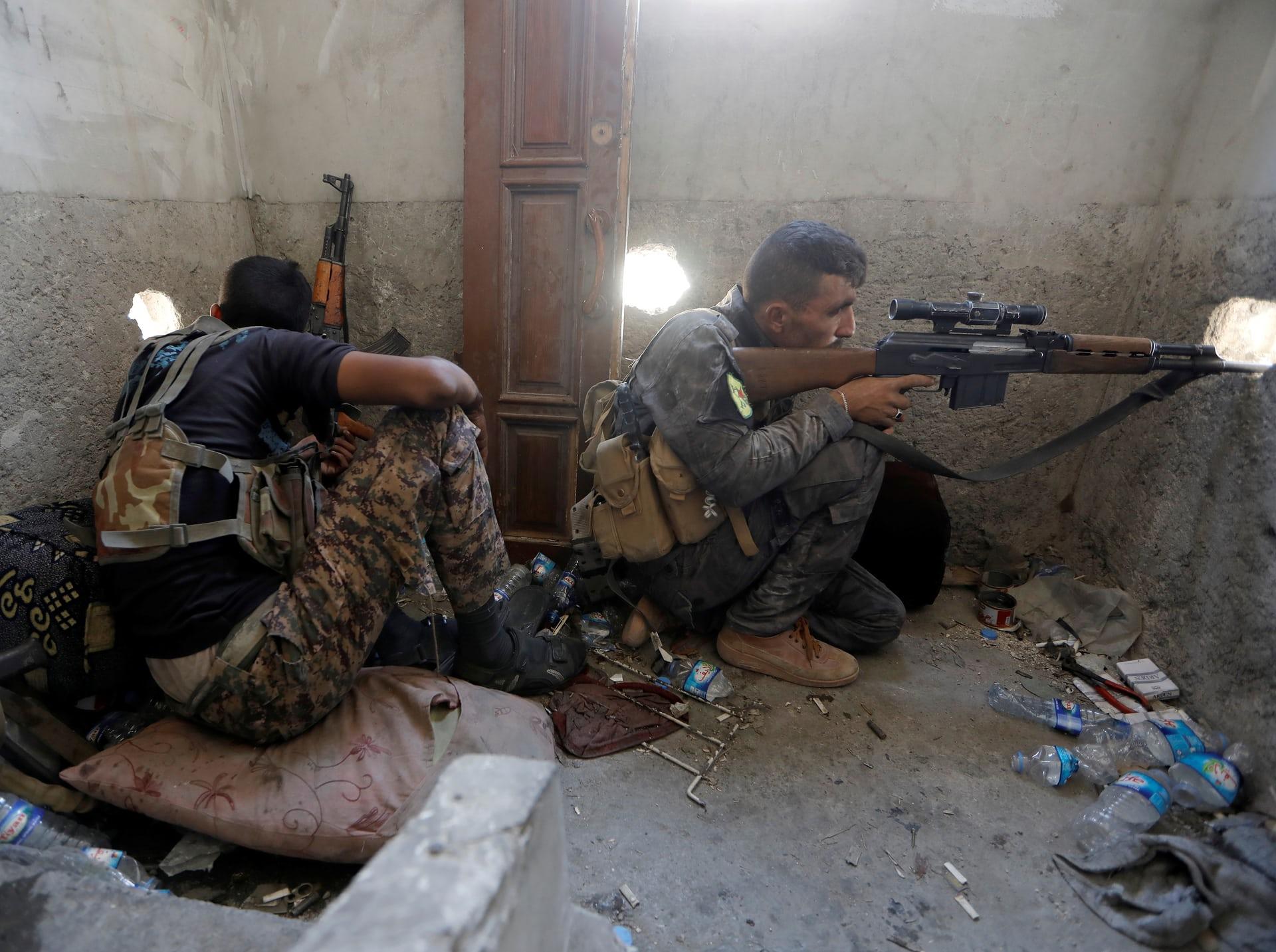 إستهداف بالأسلحة في العراق