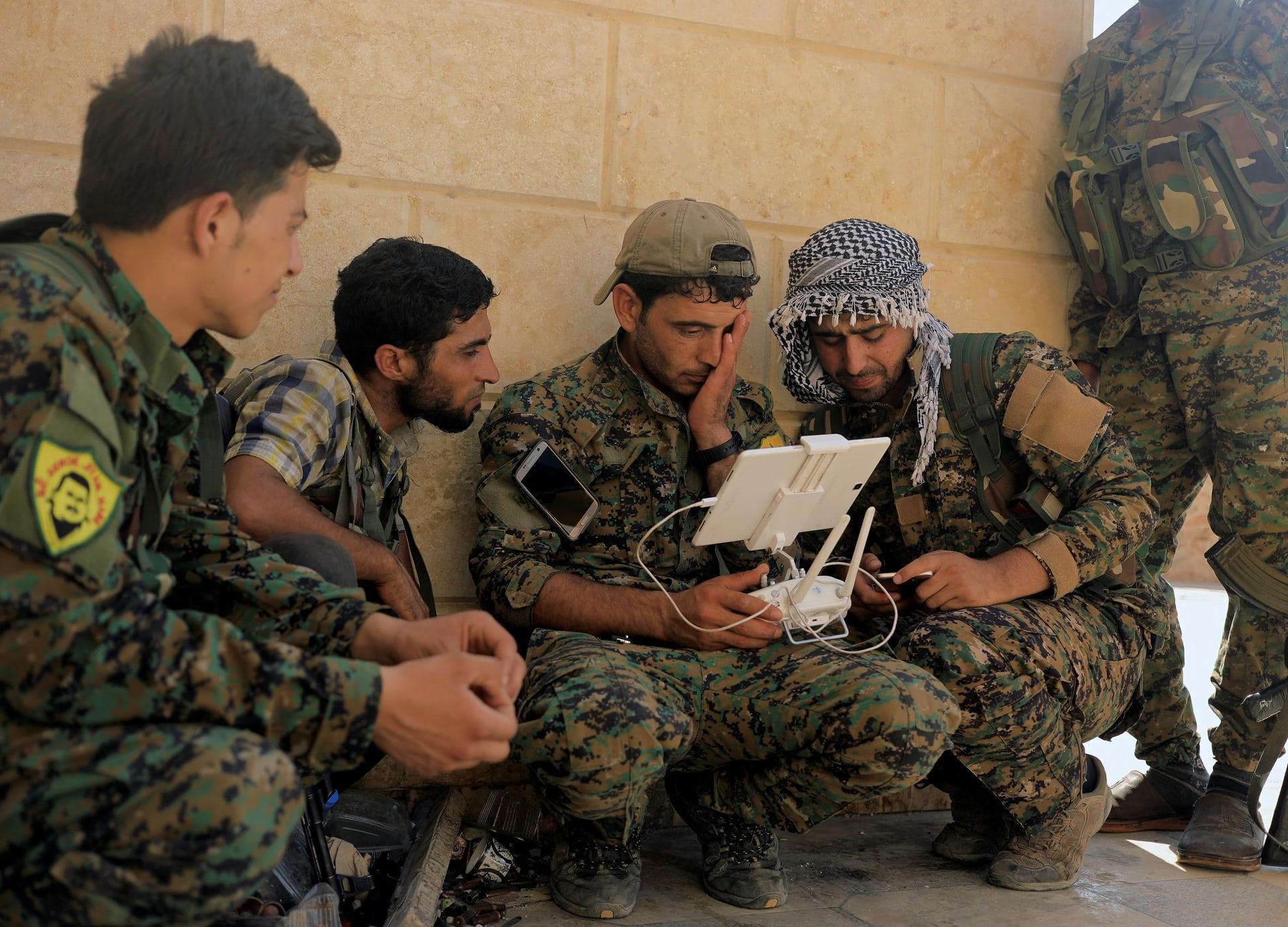 الجيش السوري الحر في الرقة