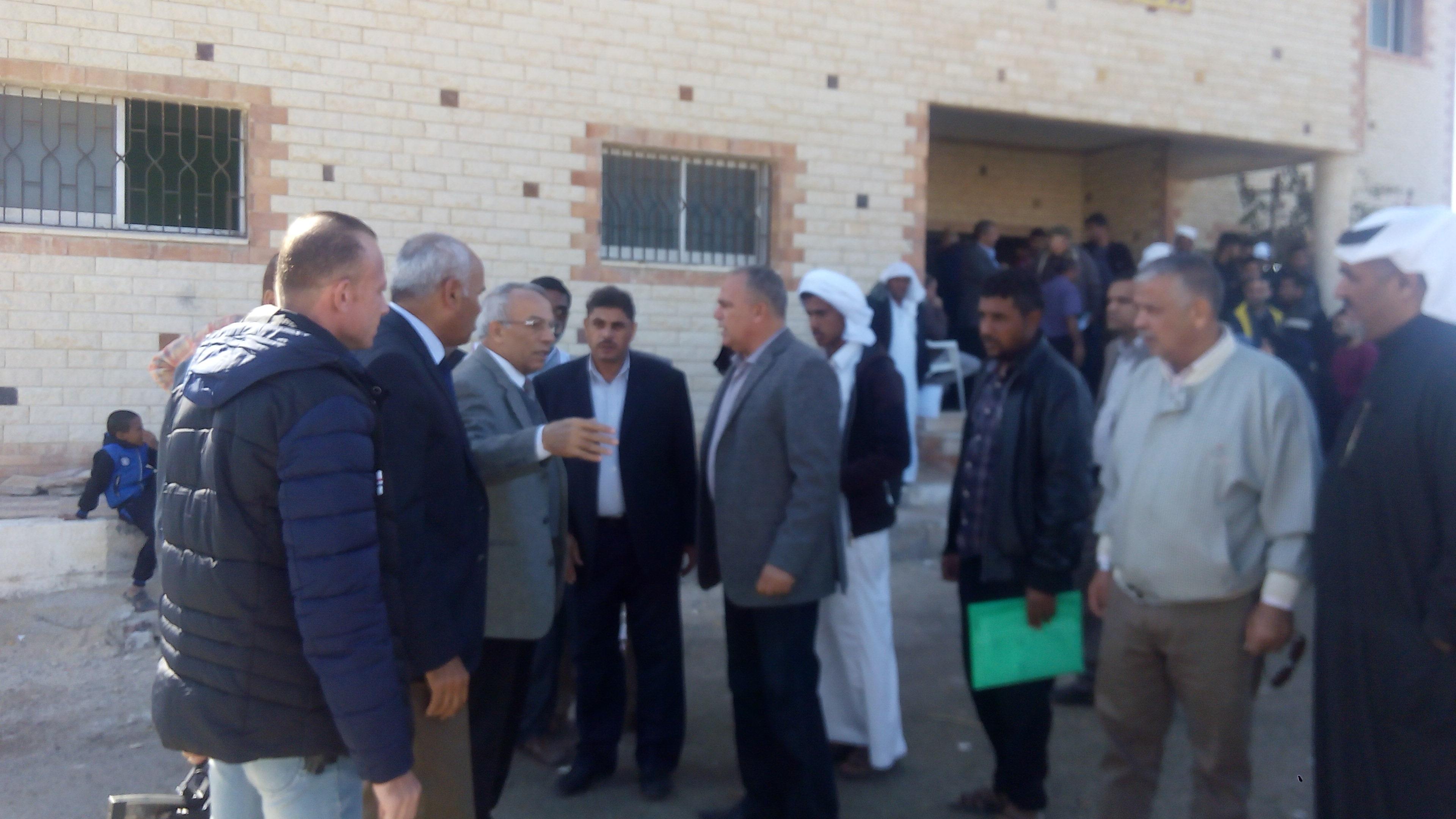 اللواء السيد حرحور محافظ شمال سيناء (6)