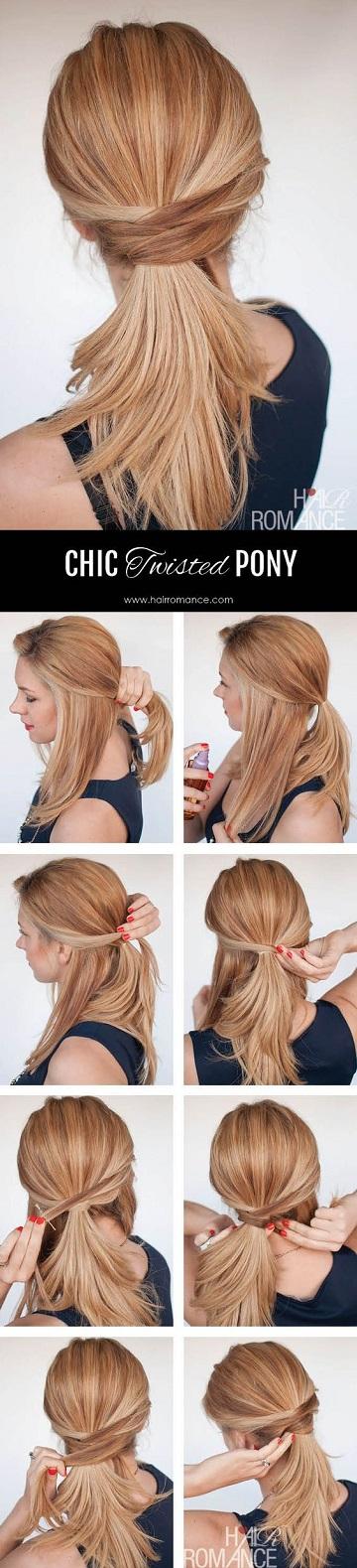 تسريحات الشعر الطويل-2