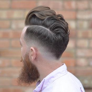 احدث قصات الشعر الرجالي
