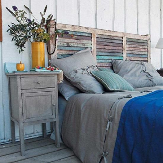 إضافة ظهير لسرير غرف النوم كمظهر جالي