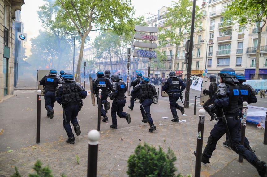 رجال الشرطة بفرنسا