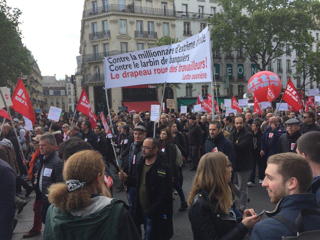 مظاهرات فرانسا
