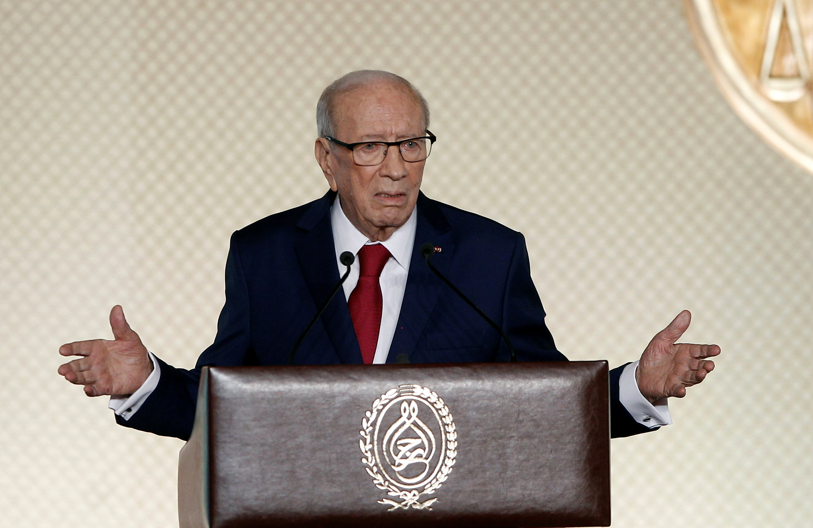 كلمة الرئيس التونسى