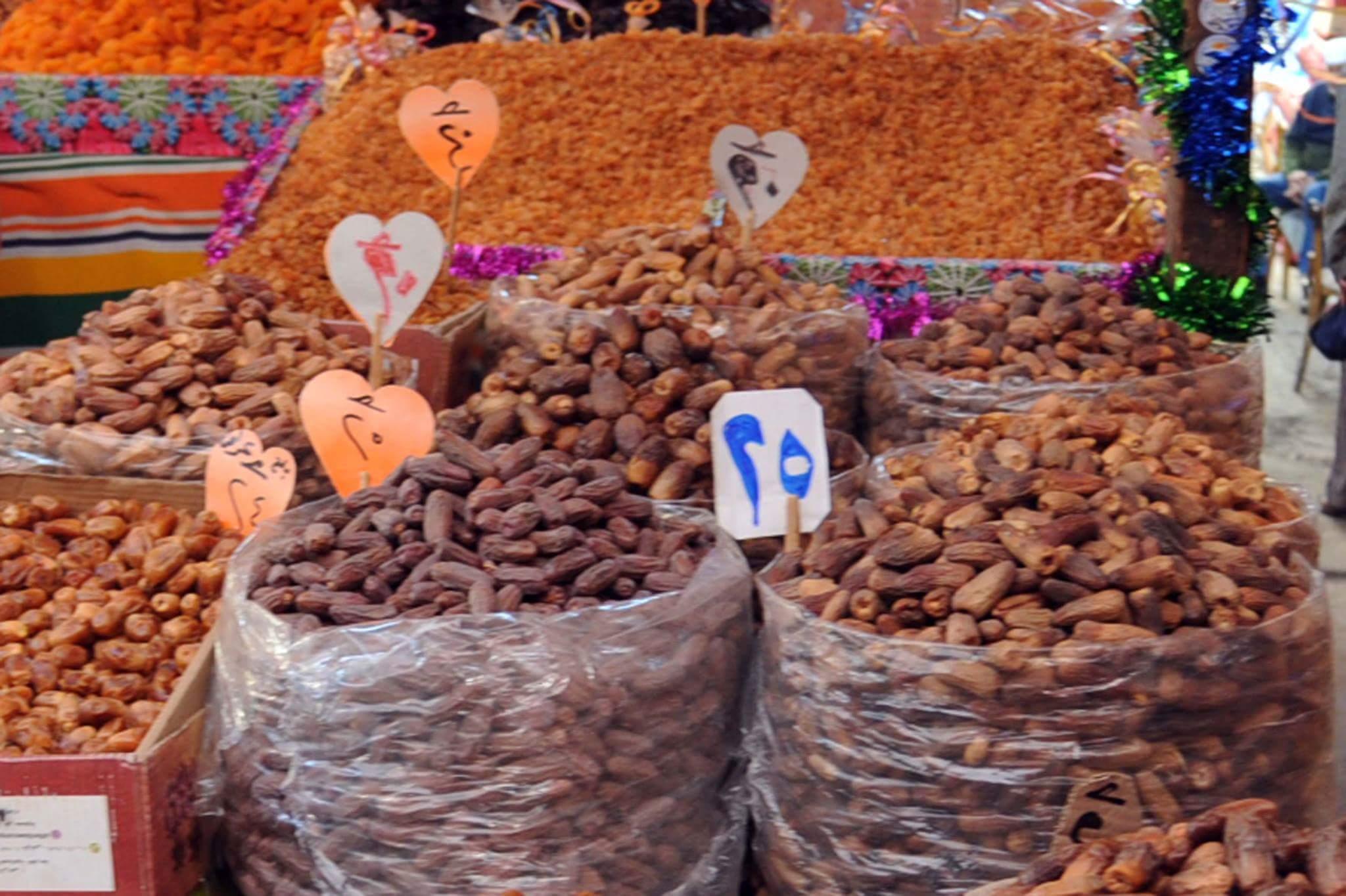 الركود يسيطر على أسواق الياميش بالإسكندرية (5)