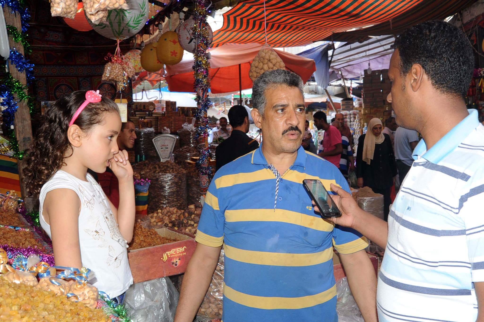 الركود يسيطر على أسواق الياميش بالإسكندرية (1)